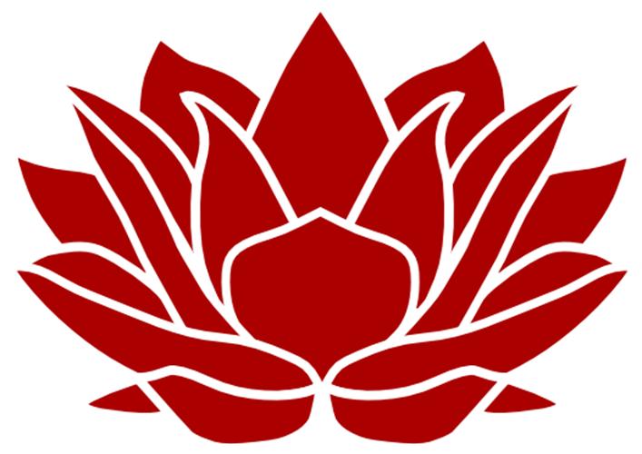 Hình ảnh hoa sen đỏ đẹp