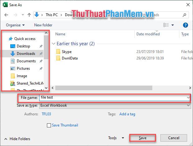 Phím F12 là phím tắt chung cho Word, Excel và PowerPoint