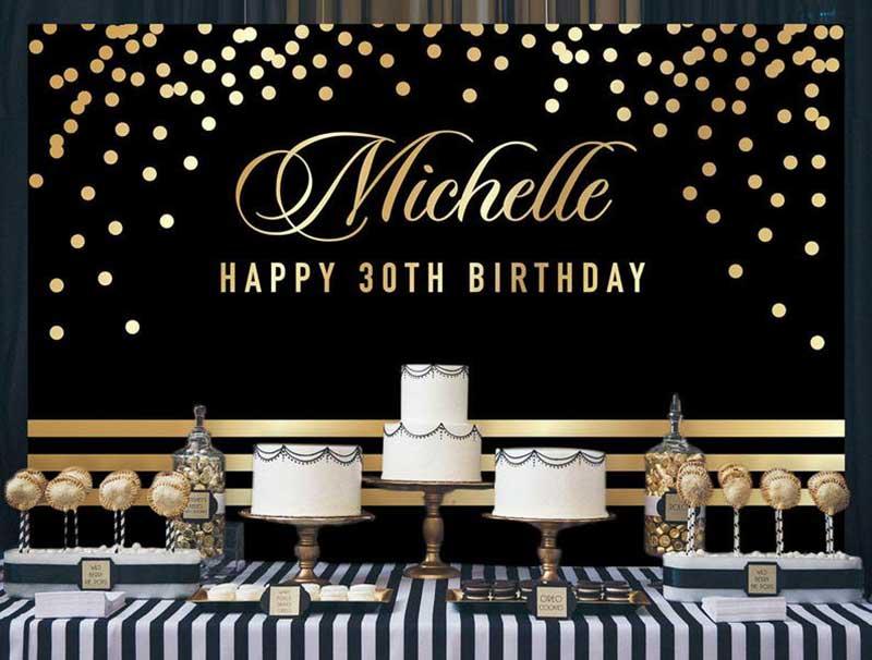 Backdrop sinh nhật người lớn