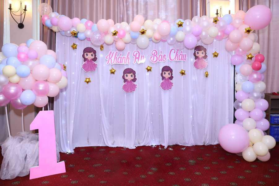 Backdrop sự kiện sinh nhật đẹp