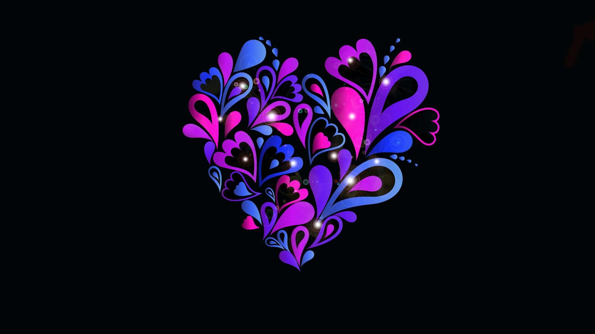 Hình nền hình trái tim
