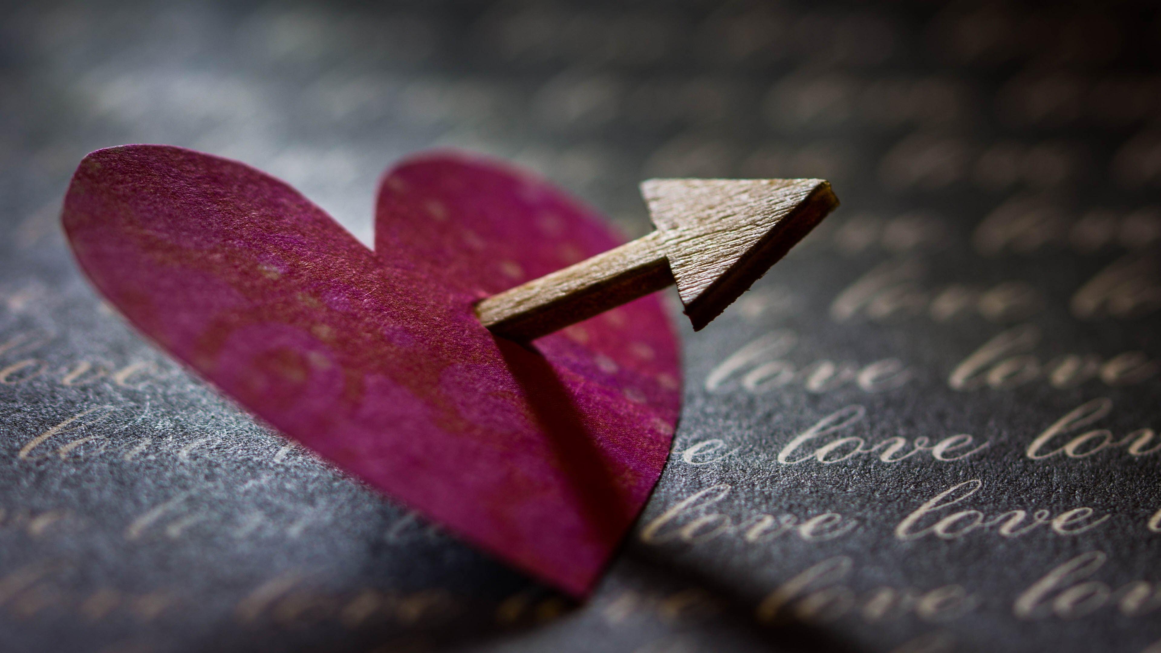Hình nền trái tim dễ thương