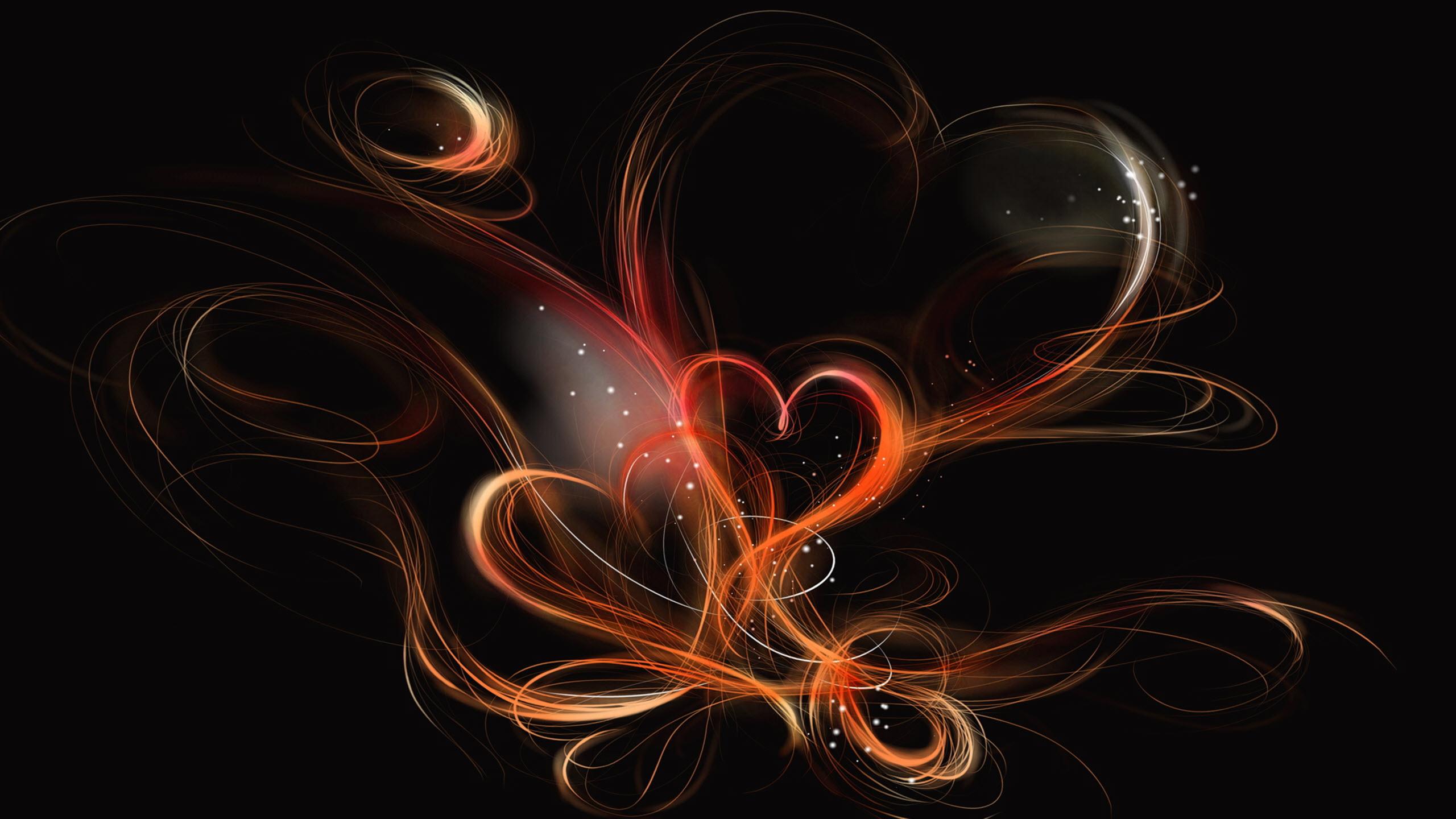 Hình nền trái tim đẹp cho máy tính