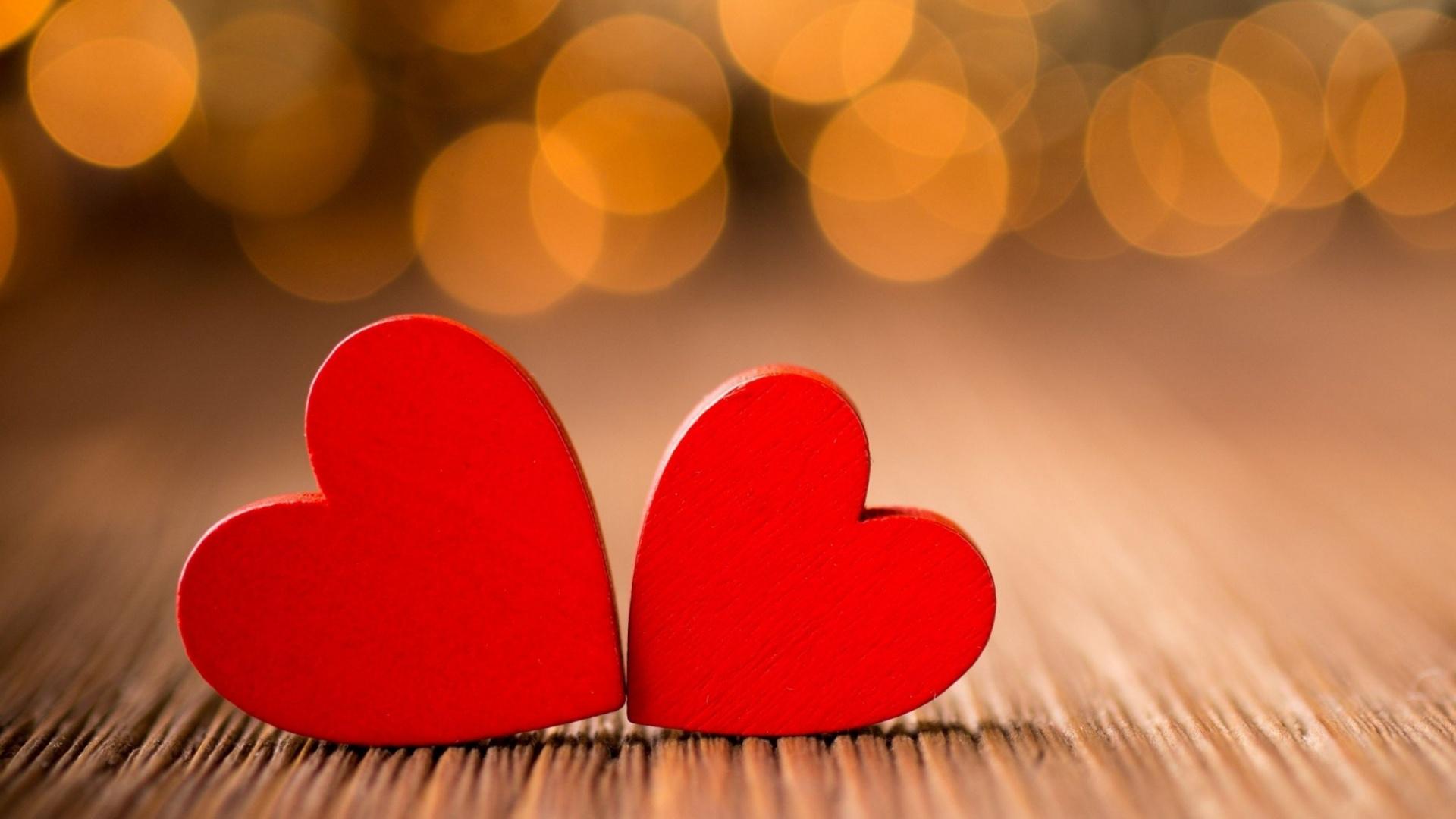Hình nền trái tim đôi đẹp