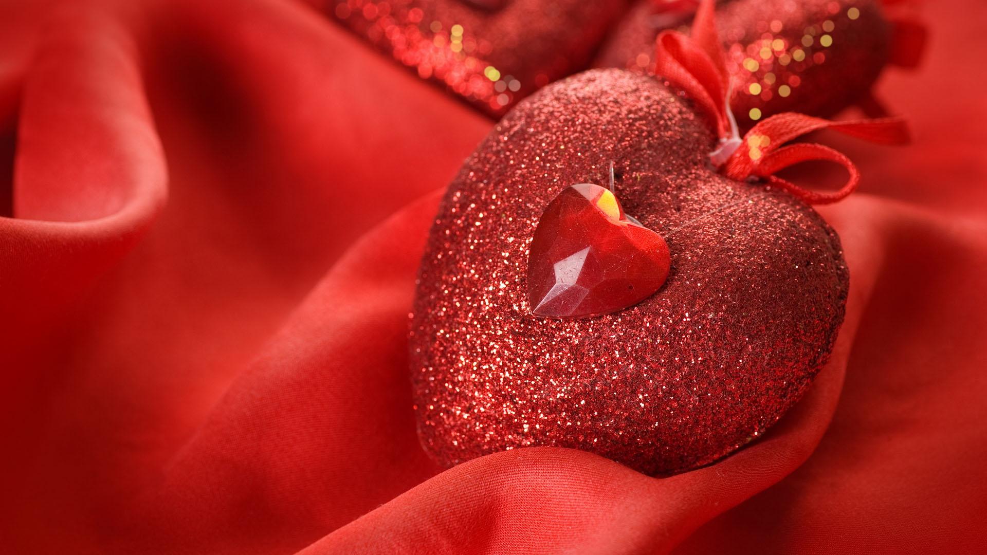 Hình nền trái tim pha lê