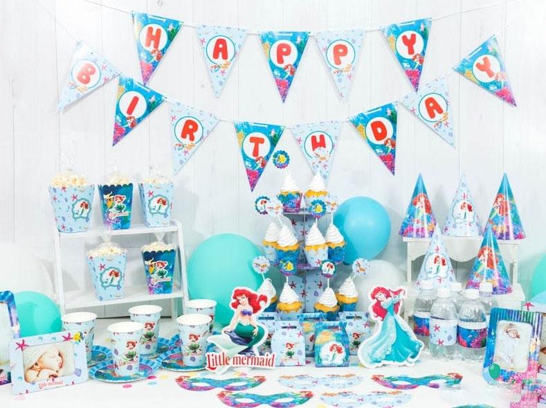 Mẫu backdrop trang trí sinh nhật