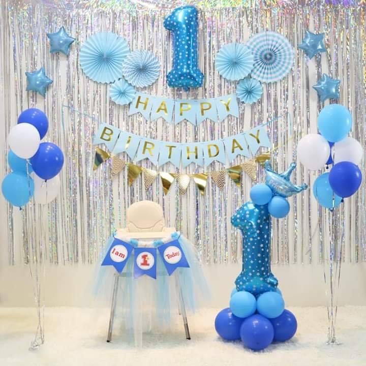 Mẫu trang trí backdrop sinh nhật