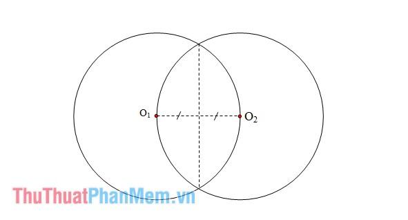 Tính phần thể tích chung của hai hình cầu này