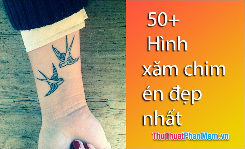 50+ Hình xăm chim én đẹp nhất