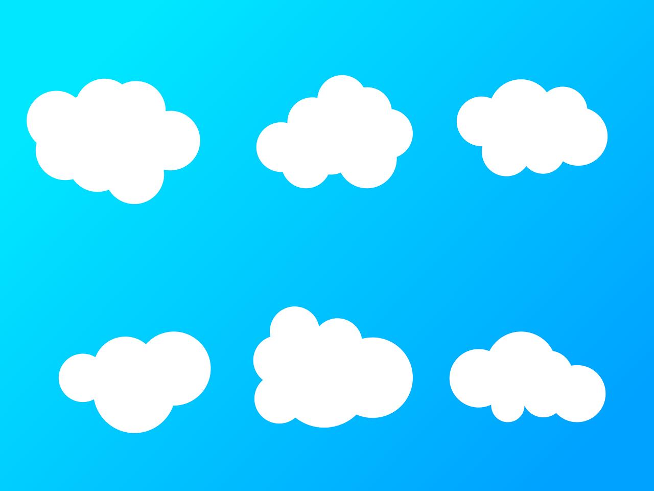 Background đám mây đẹp