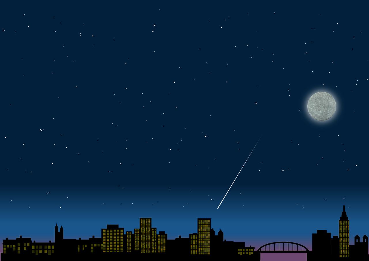 Background thành phố đêm