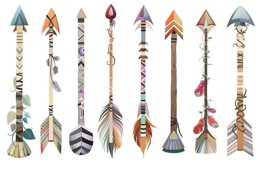 Hình ảnh các mẫu mũi tên đẹp