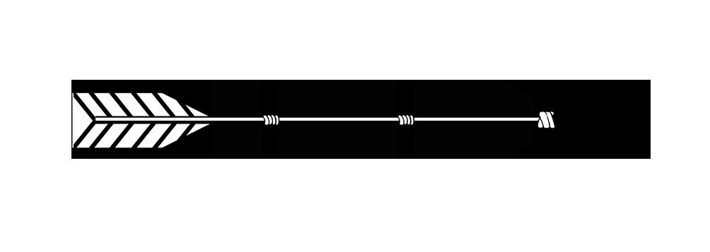 Hình mũi tên màu đen