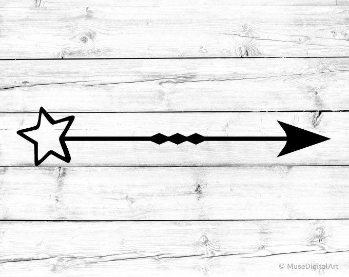 Hình mũi tên ngôi sao