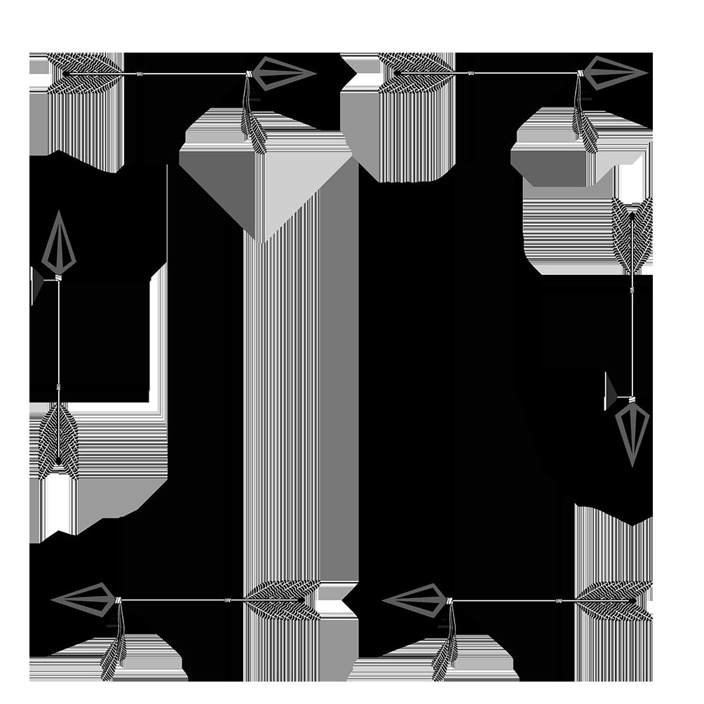 Khung hình mũi tên vuông